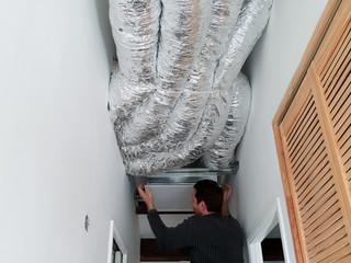 Installation d'une climatisation gainable à Aix en Provence