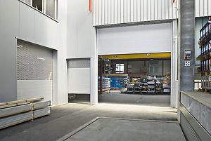 Les portes roulantes industrielles