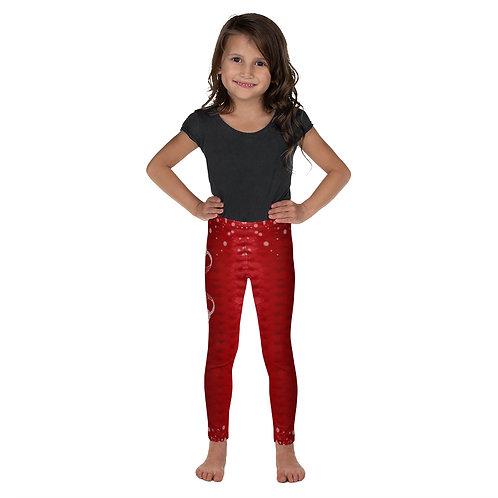 Xmas edition red Kid's Leggings