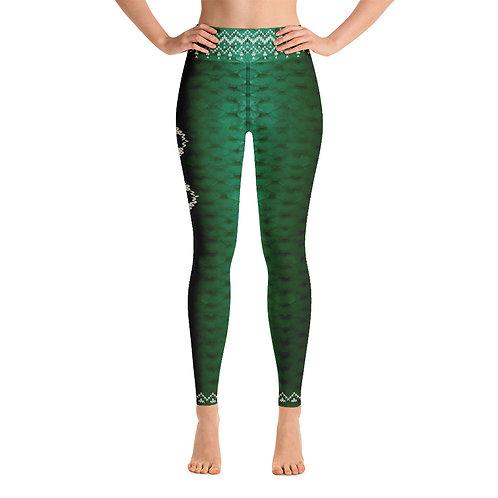 Xmas knitted edition Odycea Studios green Yoga Leggings