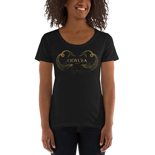Ladies' Odycea Signature Scoopneck T-Shirt