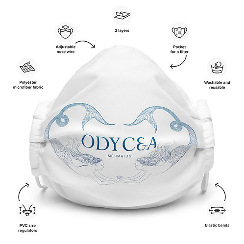 Odycea Mermaids Protection Masque