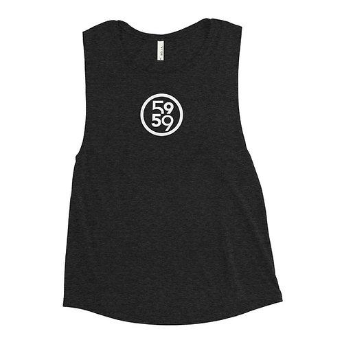 Ladies' 5959 Logo Muscle Tank