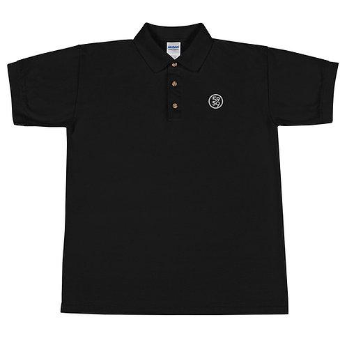 Embroidered 5959 Logo Polo Shirt