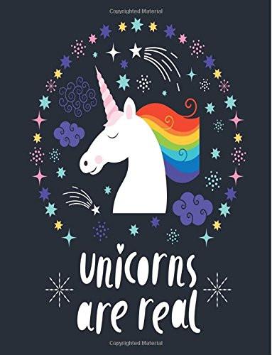 Unicorns Are Real, unicorn notebook, unicorn journal, unicorn composition book, unicorn office supplies, unicorn desk accessories, unicorn lover, unicorn gift, unicorn gift guides, unicorns
