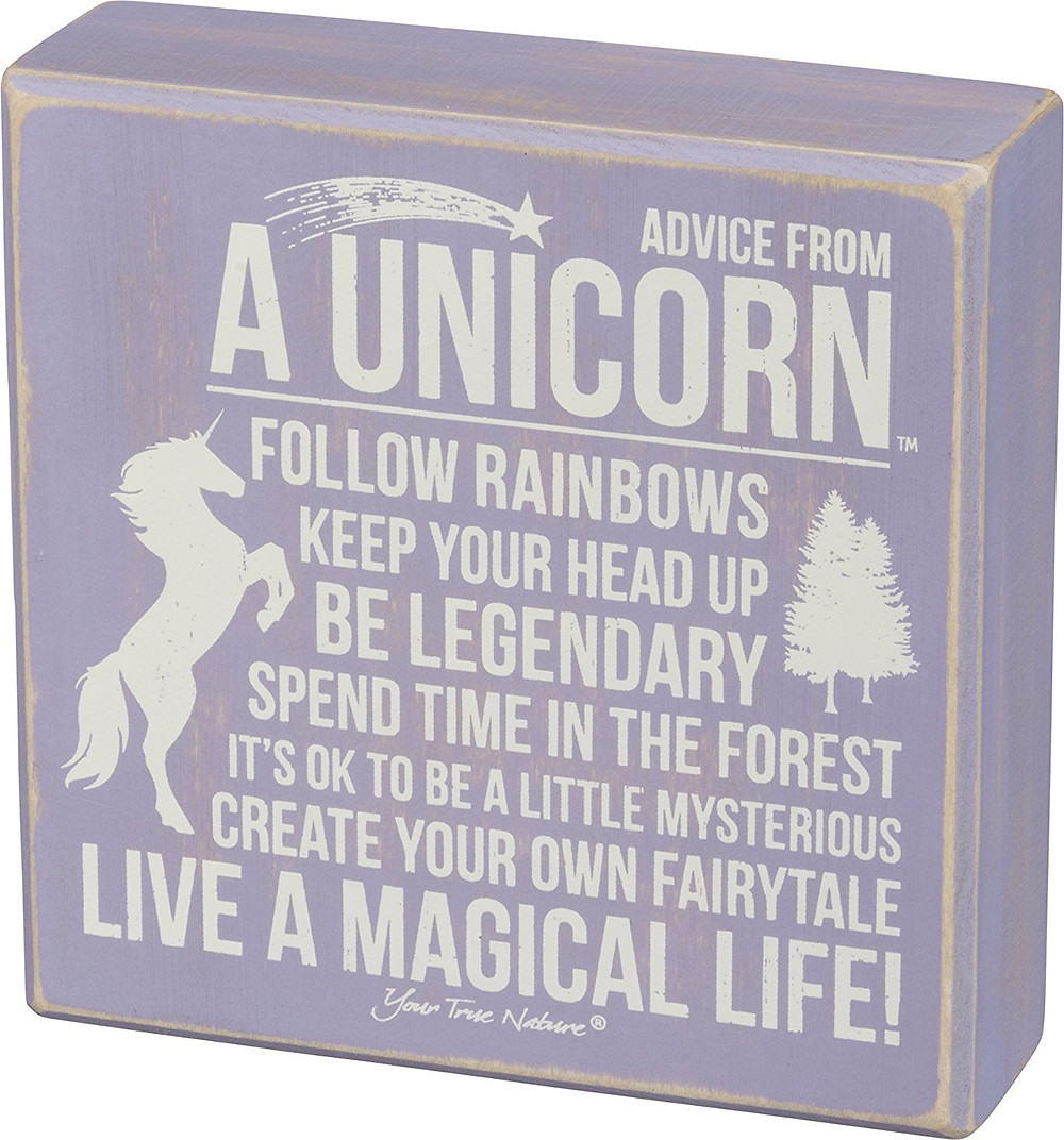 Wood Wall Art Sign, Wall Art Sign, Advice from A Unicorn, Unicorn Advice, Unicorn Decor, Unicorn, Unicorns, Unicorn Wall Art, Unicorn Wood Sign, Unicorn Lover, Unicorn Gift Guide, Unicorn Gift