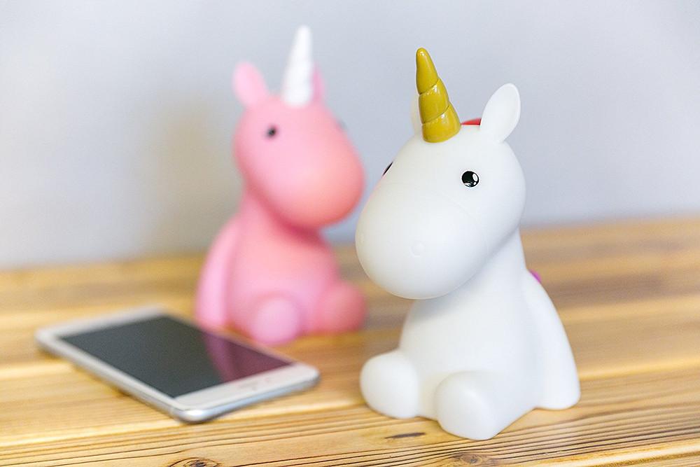 unicorn night light, pink unicorn, white unicorn, unicorn gift guide, night light, unicorn, unicorn lover, unicorn gift guide, unicorn gift