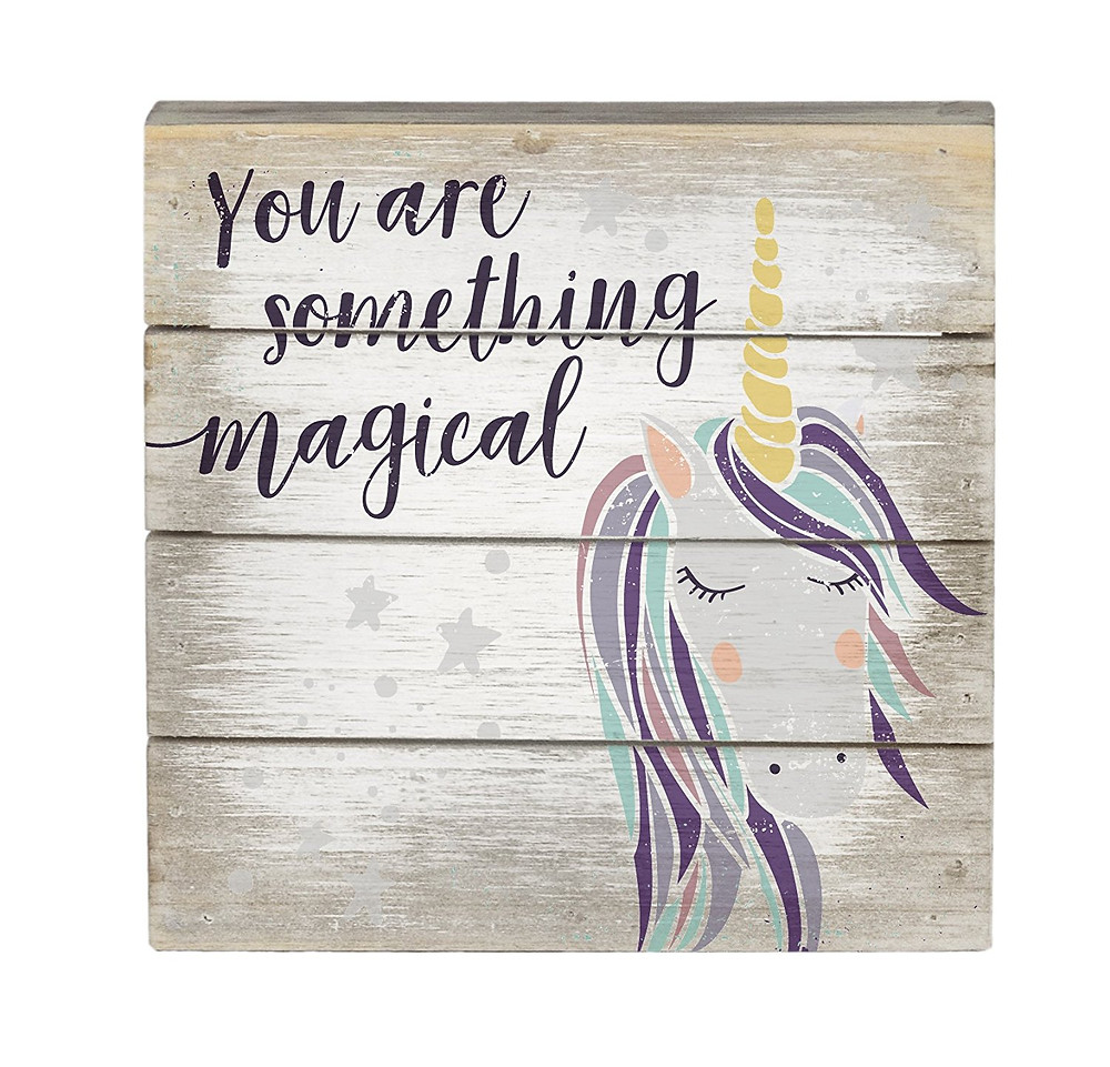 Wood Wall Art Sign, Wall Art Sign, You Are Magical, Unicorn Decor, Unicorn, Unicorns, Unicorn Wall Art, Unicorn Wood Sign, Unicorn Lover, Unicorn Gift Guide, Unicorn Gift