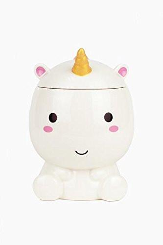 Hand Painted Unicorn Cookie Jar, unicorns, unicorn, kitchen utensils, unicorn gift guide, unicorn kitchen supplies, unicorns, unicorn lover, unicorn gift, unicorn cookies, cookie jar