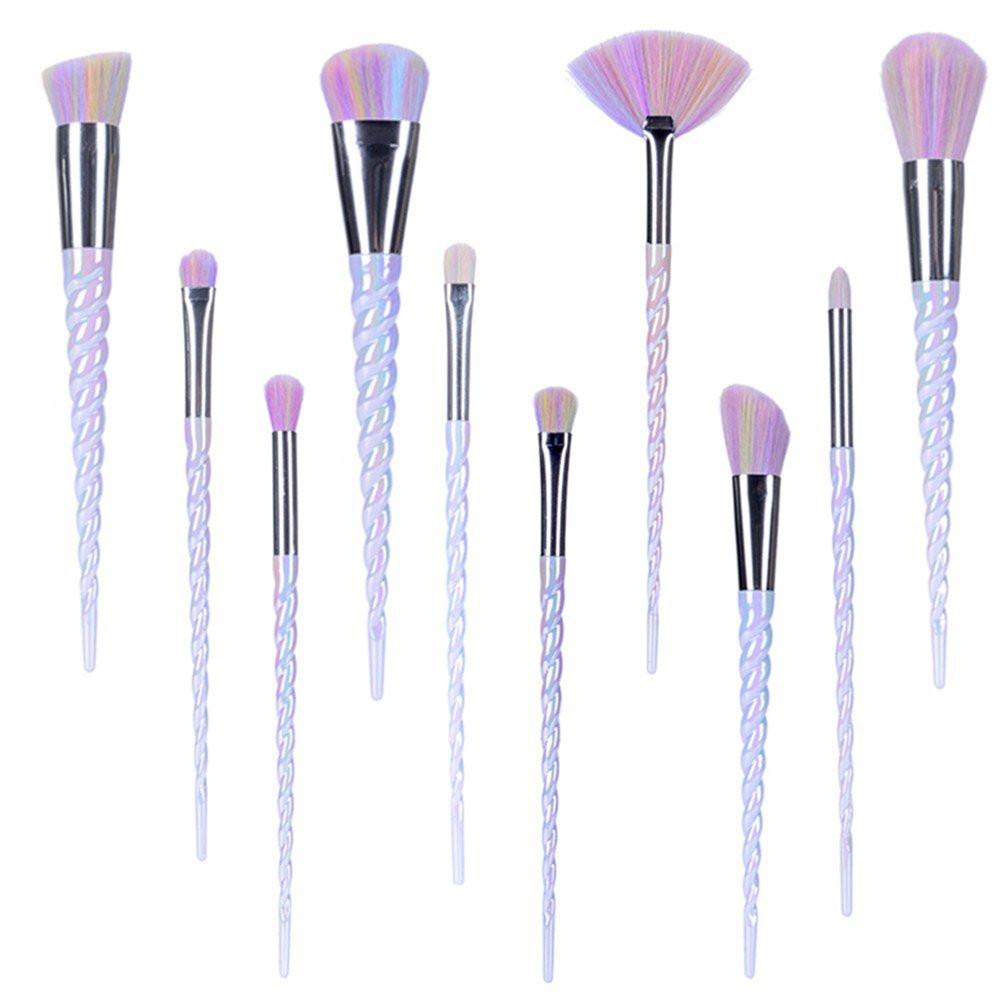 Unicorn Makeup Foundation Brush Set, unicorn makeup brushes, unicorn foundation brushes, unicorn makeup, unicorn beauty, unicorn lover, unicorn gift, unicorn gift guide