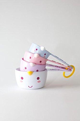 Unicorn Measuring Cups, unicorns, unicorn, measuring cups, kitchen utensils, baking utensils, unicorn gift guide, unicorn kitchen supplies, unicorns, unicorn lover, unicorn gift