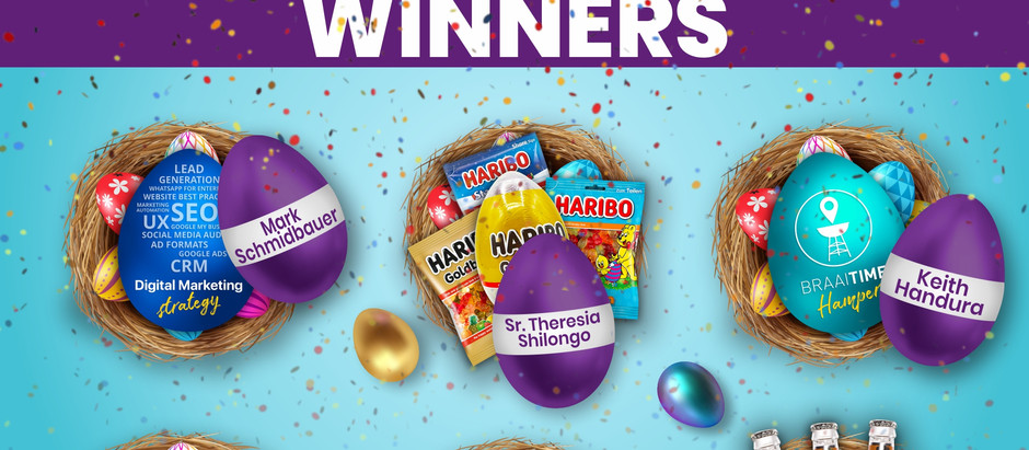 V5 Digital announces the Easter Competition Winners!