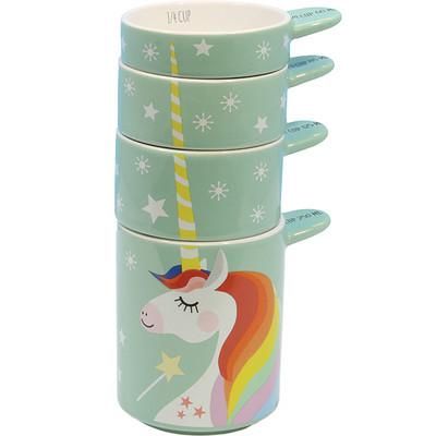 Stackable Unicorn Measuring Cups, unicorn gift guide, unicorn kitchen supplies, unicorns, unicorn, unicorn measuring cups, unicorn lover, unicorn gift