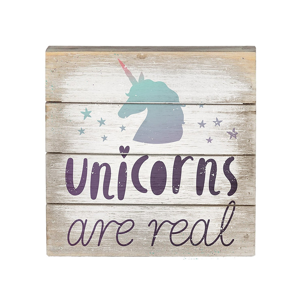 Wood Wall Art Sign, Wall Art Sign, Unicorns Are Real, Unicorn Decor, Unicorn, Unicorns, Unicorn Wall Art, Unicorn Wood Sign, Unicorn Lover, Unicorn Gift Guide, Unicorn Gift