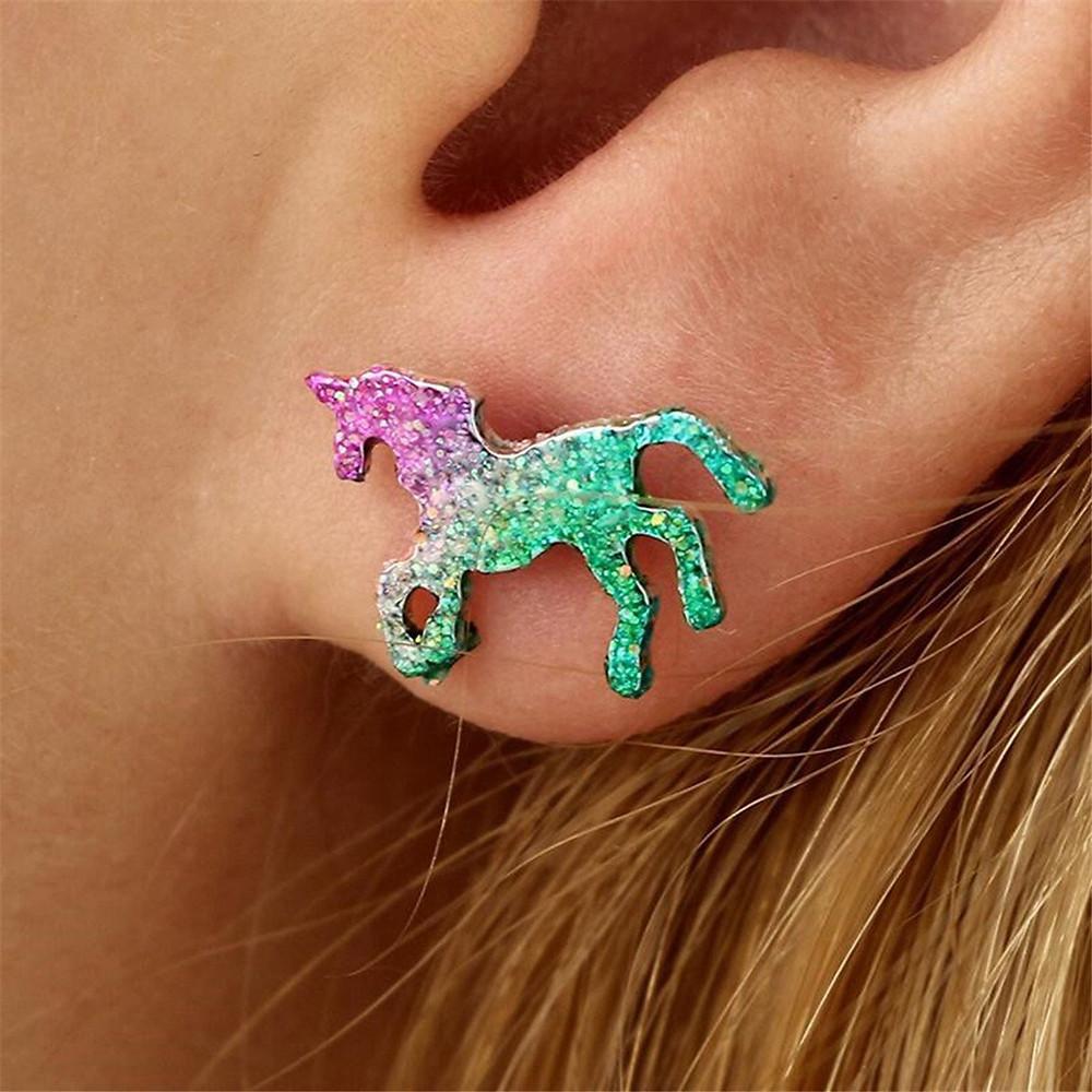 unicorn earrings, horse earrings, purple unicorns, green unicorns, unicorn stud earrings, horse stud earrings, earrings for girls, earrings for women, unicorn jewelry, unicorn, unicorns, unicorn lover, unicorn gift, unicorn gift guide