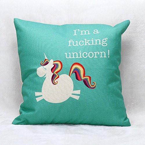 unicorn pillow case, unicorn throw pillow case, unicorn pillow, im a unicorn, unicorn lover, unicorn gift, unicorn gift guide, unicorn decor, unicorn home decor