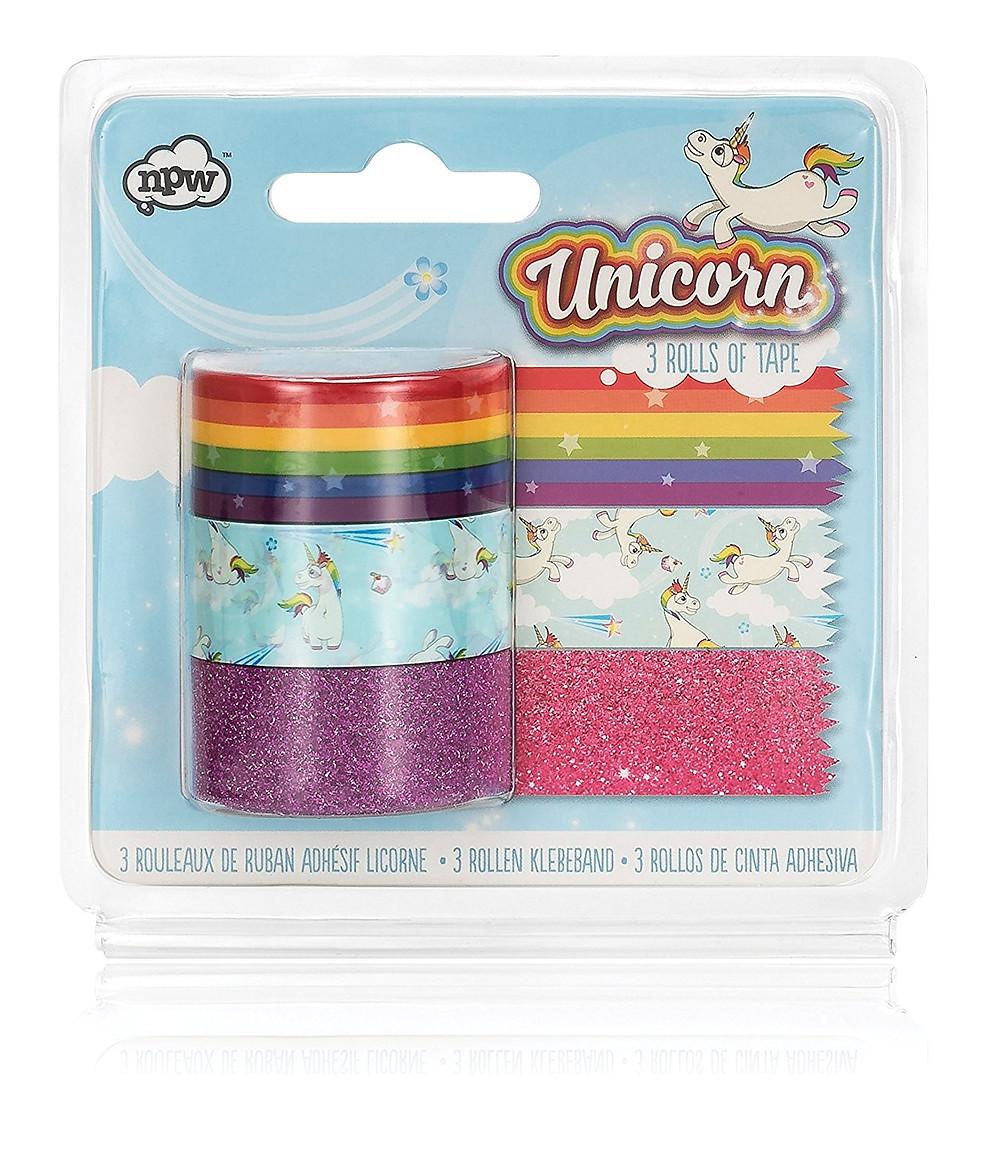 Unicorn Craft Tape Roll, unicorn tape, unicorn craft tape, Unicorn Tape Dispenser, unicorn lover, unicorn gift, unicorn gift guide, unicorn tape, unicorn office supplies, unicorn desk accessories, unicorns, unicorn, rainbow tape, rainbow office supplies, glitter tape