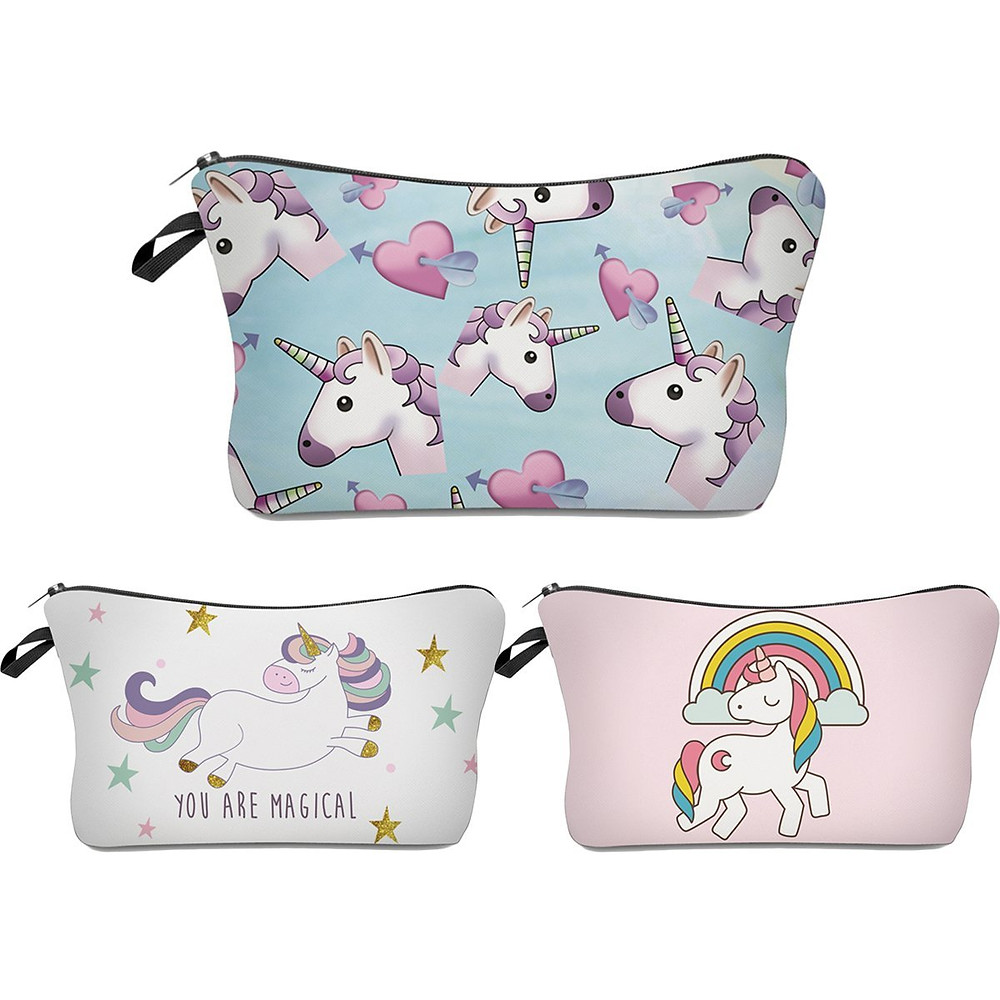 unicorn lover, unicorn gift, unicorn gift guide, unicorn makeup bag, unicorn cosmetic bag, unicorn makeup, unicorn cosmetics, unicorn beauty, beauty bag