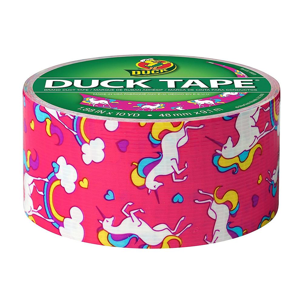 Unicorn duct tape, unicorn duck brand tape, unicorn tape, unicorn craft tape, Unicorn Tape Dispenser, unicorn lover, unicorn gift, unicorn gift guide, unicorn tape, unicorn office supplies, unicorn desk accessories, unicorns, unicorn, rainbow office supplies, pink unicorn