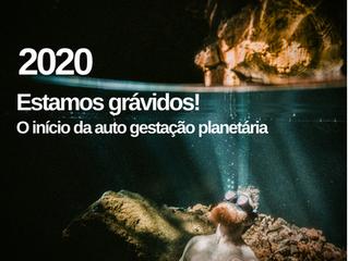 2020: estamos grávidos! O início da auto gestação planetária.