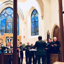 Conducting Gloria Dei