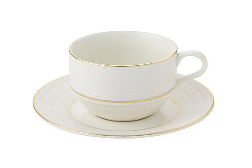 LINEGE コーヒーカップ&ソーサー270cc
