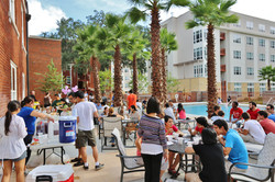 Continuum resident pool party
