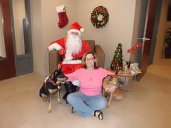Continuum resident meeting Santa