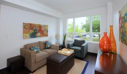 Continuum apartment living room