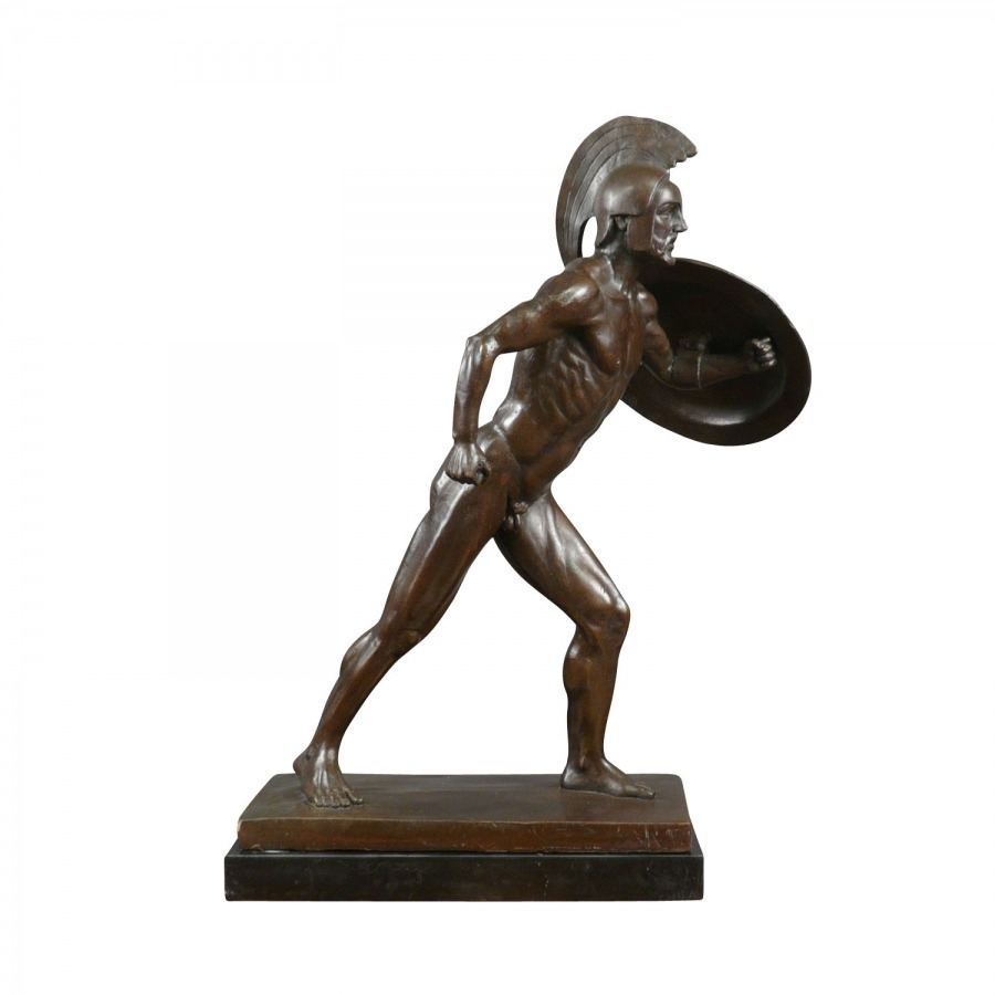 the-roman-gladiator-bronze-statue