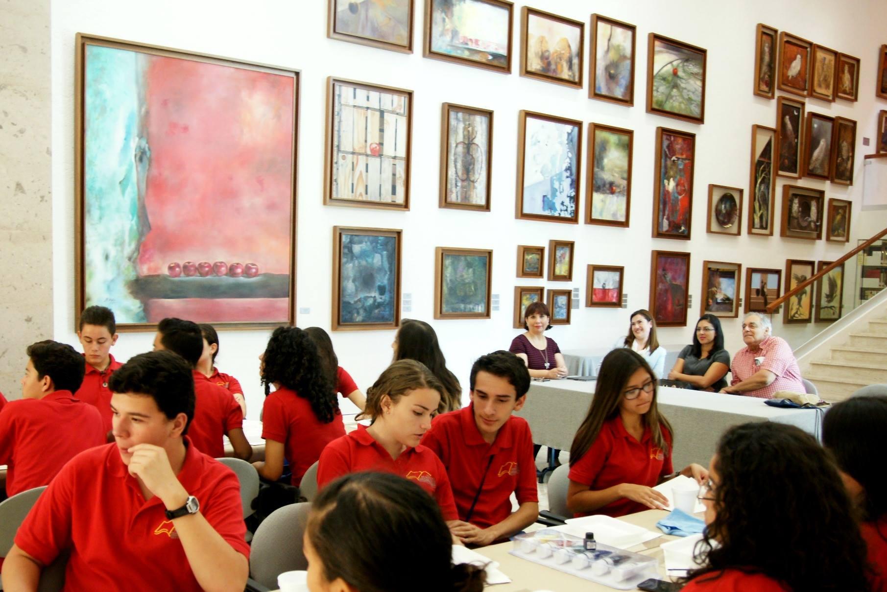 Actividades dentro la Sala-Museo