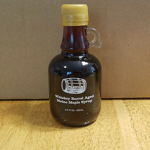 Whiskey barrel aged Maine maple syrup (250 ml)