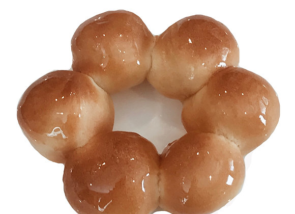 organic classic glazed air-fried donut