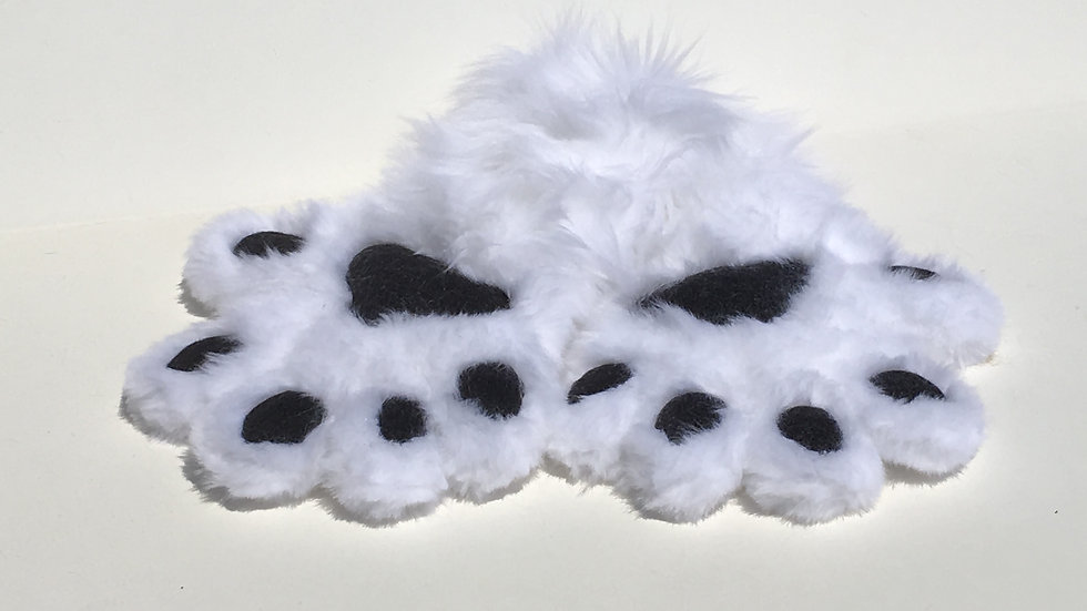 Natural Color Hand Paws