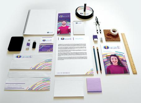 O que é uma identidade visual e qual é a importância para uma pequena empresa?