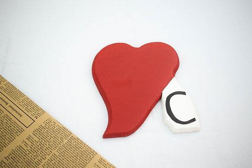 Corazón con inicial