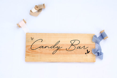 "Cartel ""Candy Bar"""
