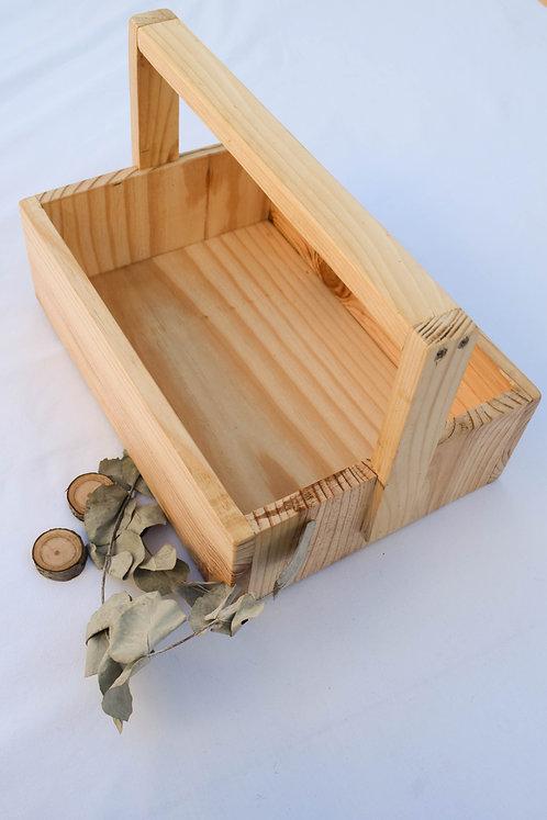 cesta campestre picnic rústica