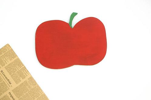 Manzana tabla de cortar