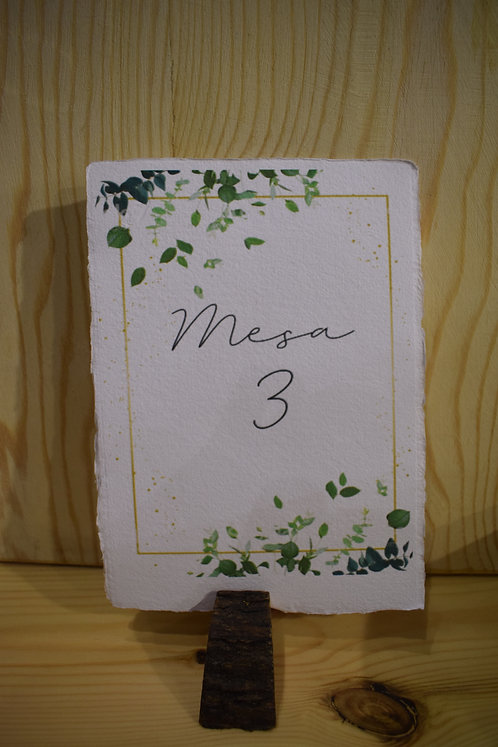 Mesero papel +Rodaja
