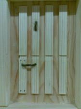 Buzón de madera