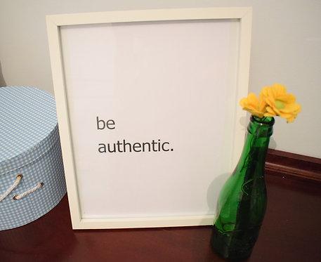 lámina be authentic