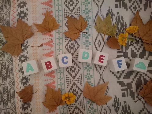 bloques abecedario