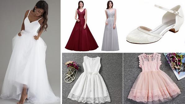 9fc263e87 Okrem šiat na svadbu (nielen pre nevesty) prinášame tipy aj na svadobné  topánky a kúzelné detské šaty pre družičky.