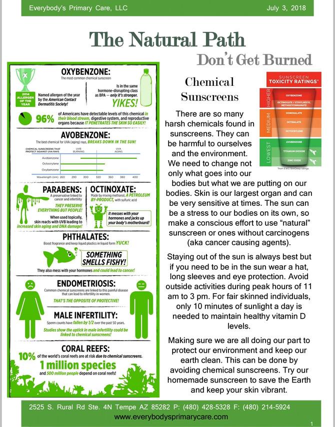 Don't Get Burned