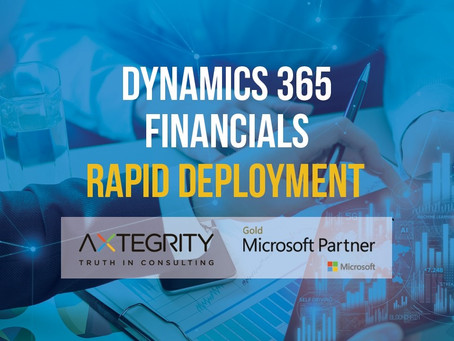 How to Get Started using D365 for Finance