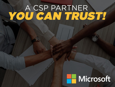 Working with a CSP Partner You Can Trust
