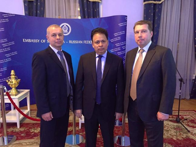Новогодний прием в посольстве Шри-Ланки в Москве