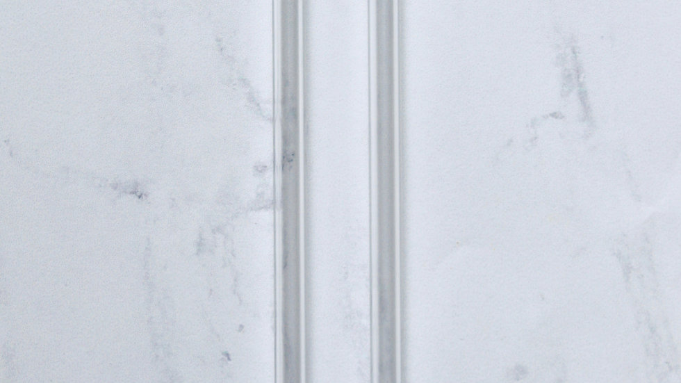 Clear Bent Glass Straw