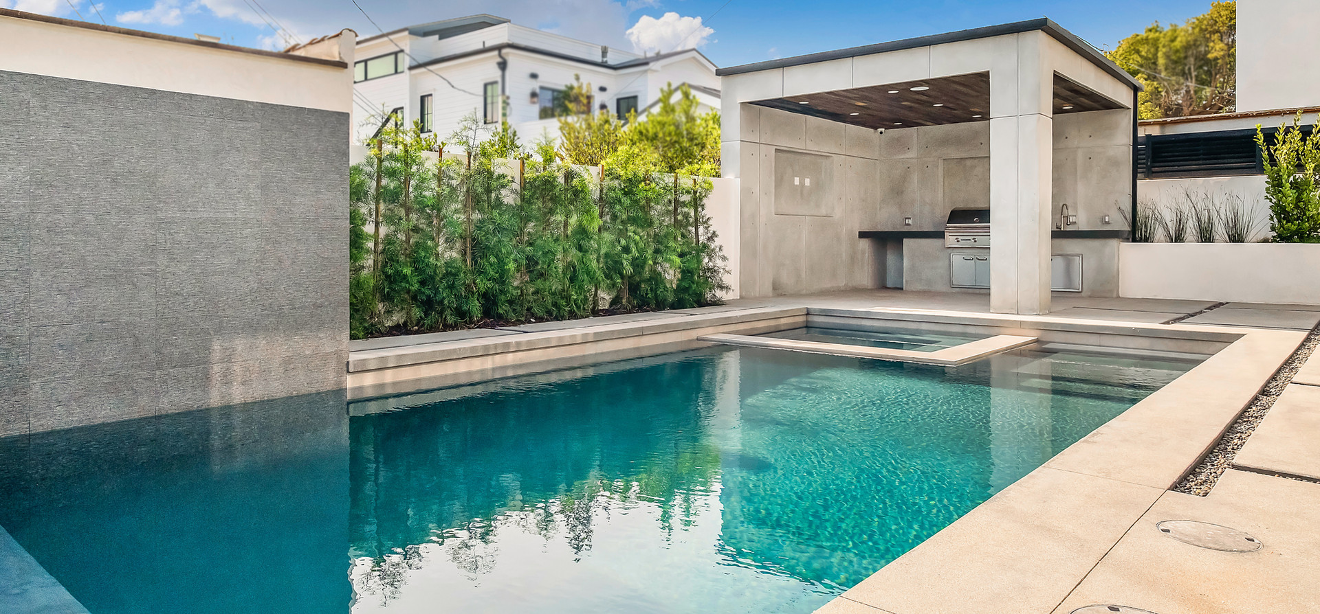 Concrete Decking and Pool Installation